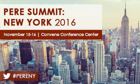 PERE Summit New York 2016