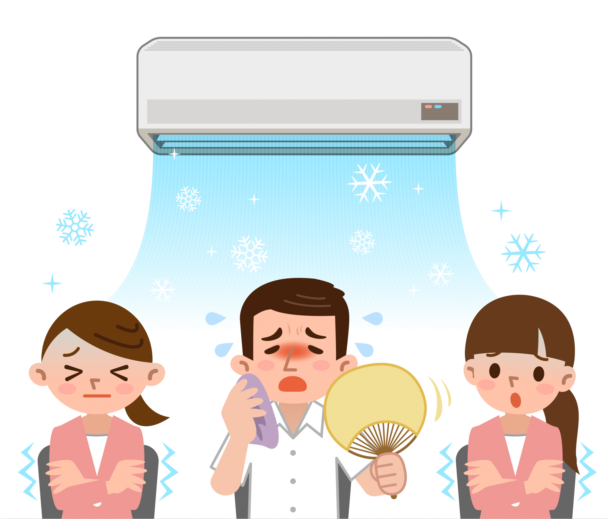 Fair Office A/C Temperatures for All