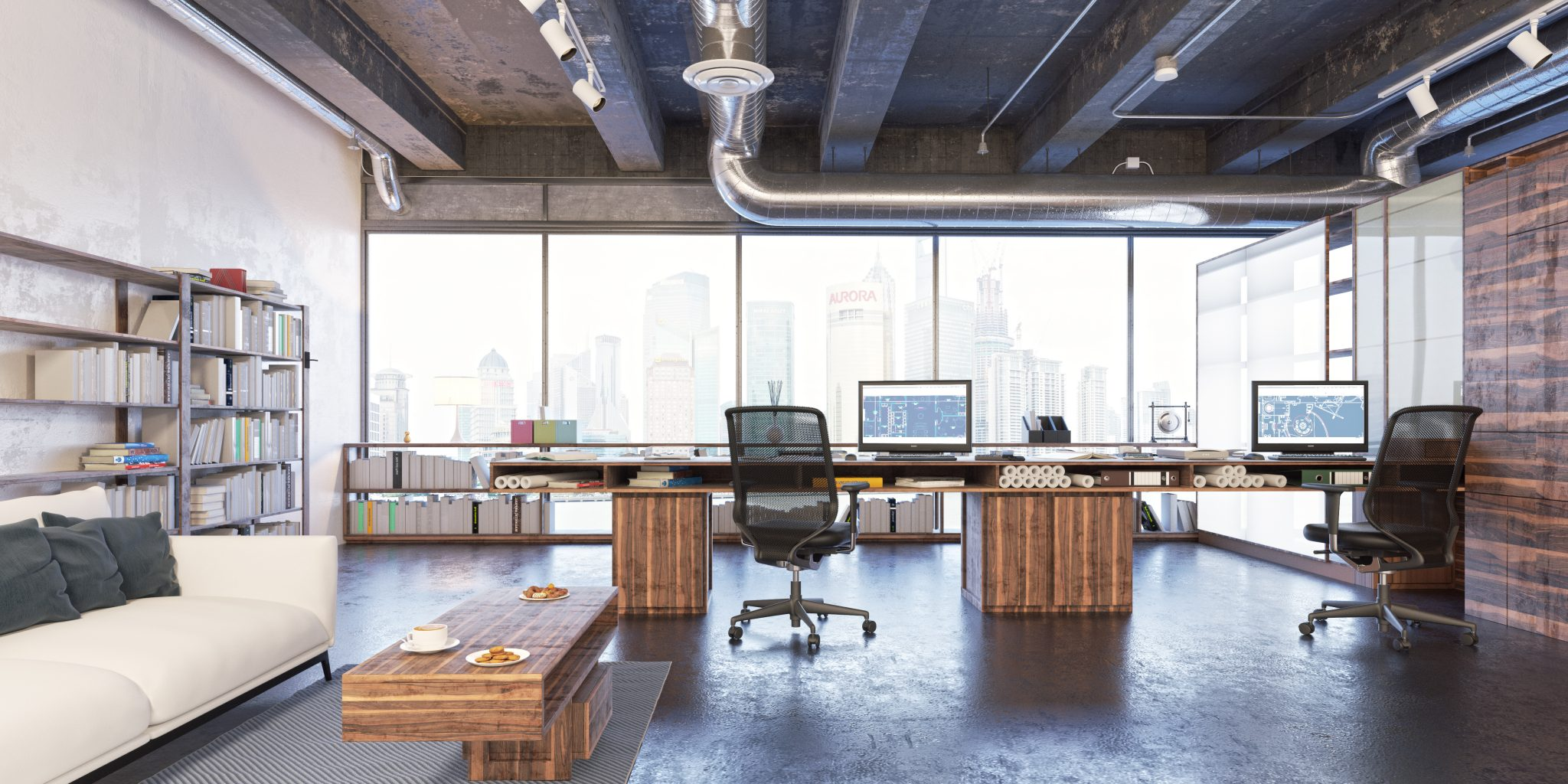 Is it time for your startup to rent space nyc office suites for Trendy office design