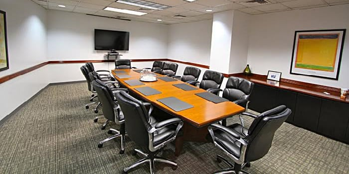 12 person conference room space