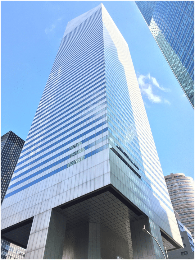 Exterior of NYC Office Suites building