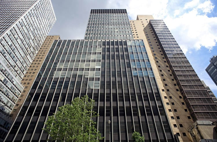 Exterior NYC Office Suites building
