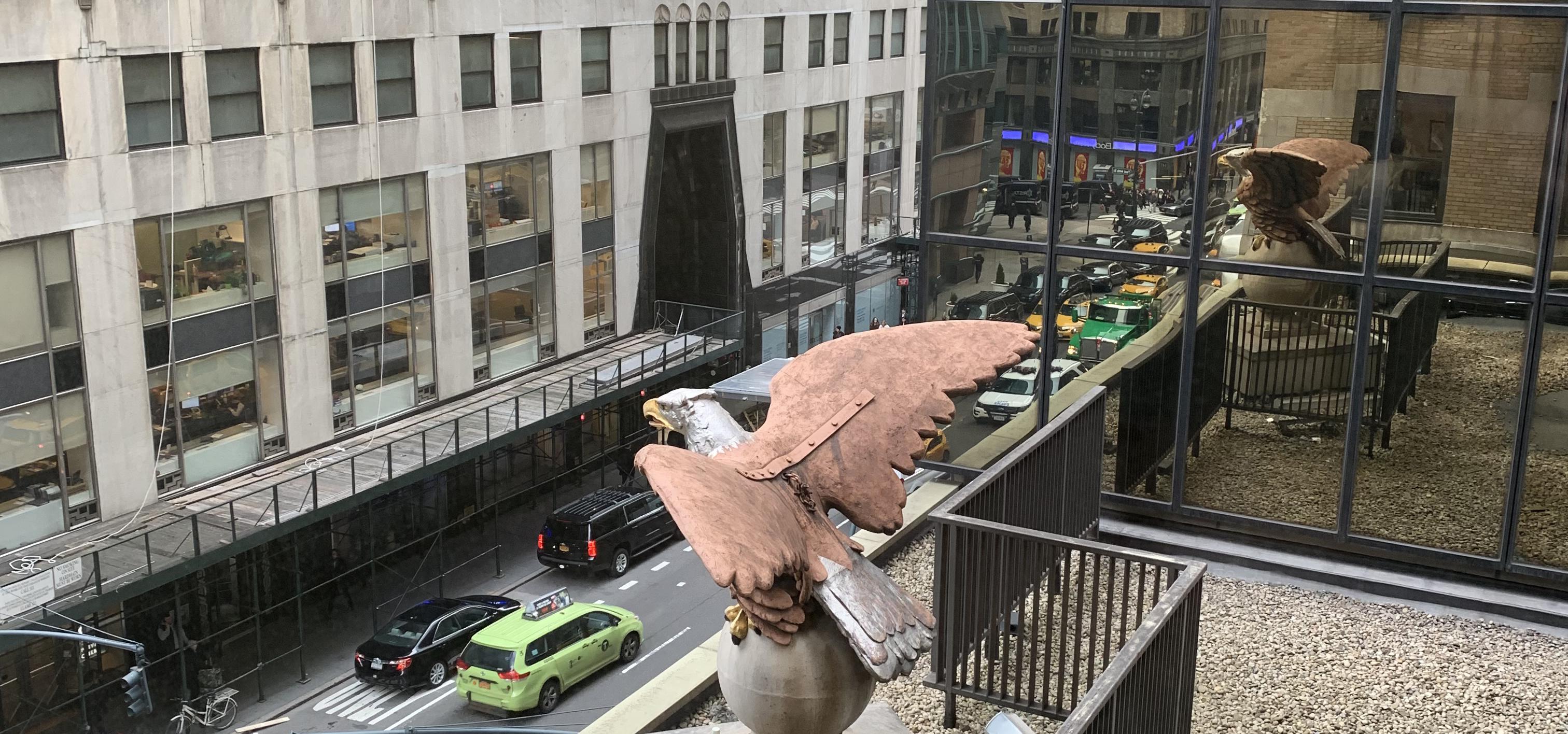 Graybar Eagle