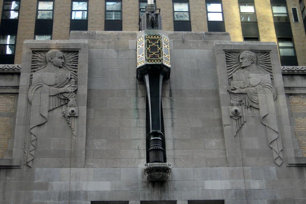 Graybar Facade Detail